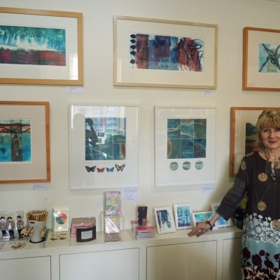 Ann Marie at Abbot Hall Art Gallery Shop, Abbot Hall