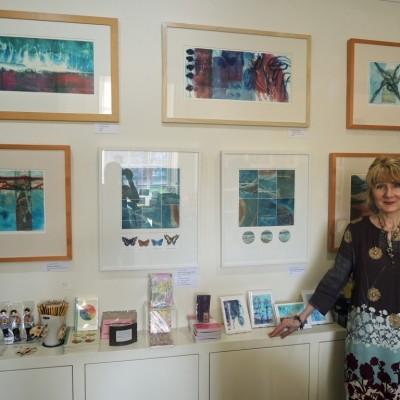 Ann Marie at Abbot Hall Art Gallery Shop, Abbot Hall