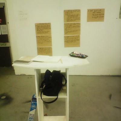 Peripatetic studio