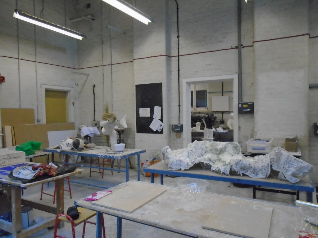 Residency in progress - Sculpture Workshop (2016/17)