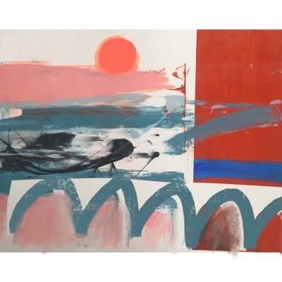 Abstract screenprints