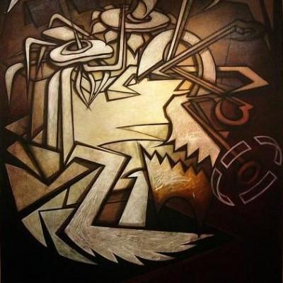 Art works by Roderick Newlands MA (RCA.)