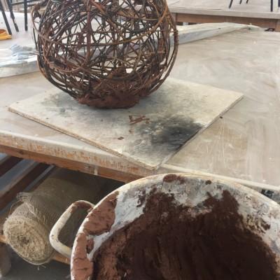 Cracked Earth 'kiln'