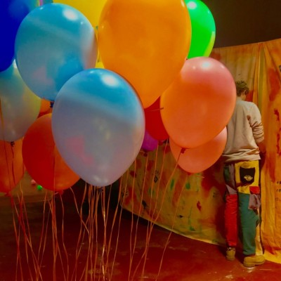 a balloon that flew - solo exhibition (2019)
