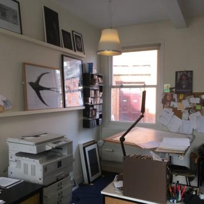 Visit to Chris Dugrenier and Adrian Baynes studio