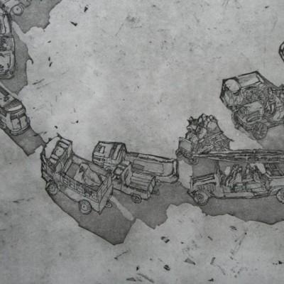 Cars (detail)