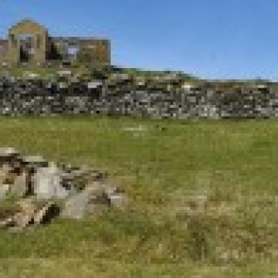 Stackhoull - Burrafirth, Unst.
